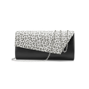 REALER women clutch envelope evening bag female purse handbags ladies wallet with animal prints chain shoulder messenger bags