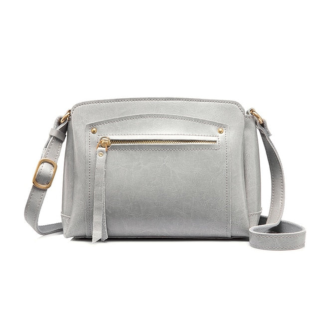 classic  leather crossbody bag