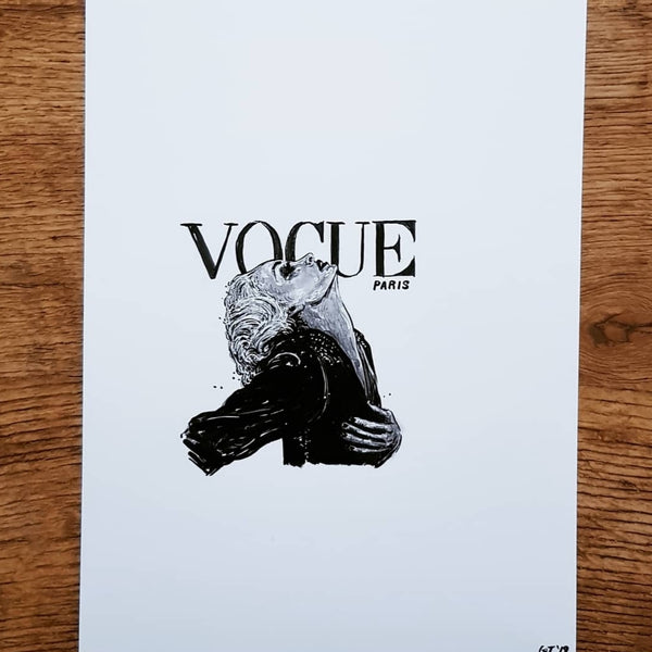 """VOGUE"" Original Drawing"