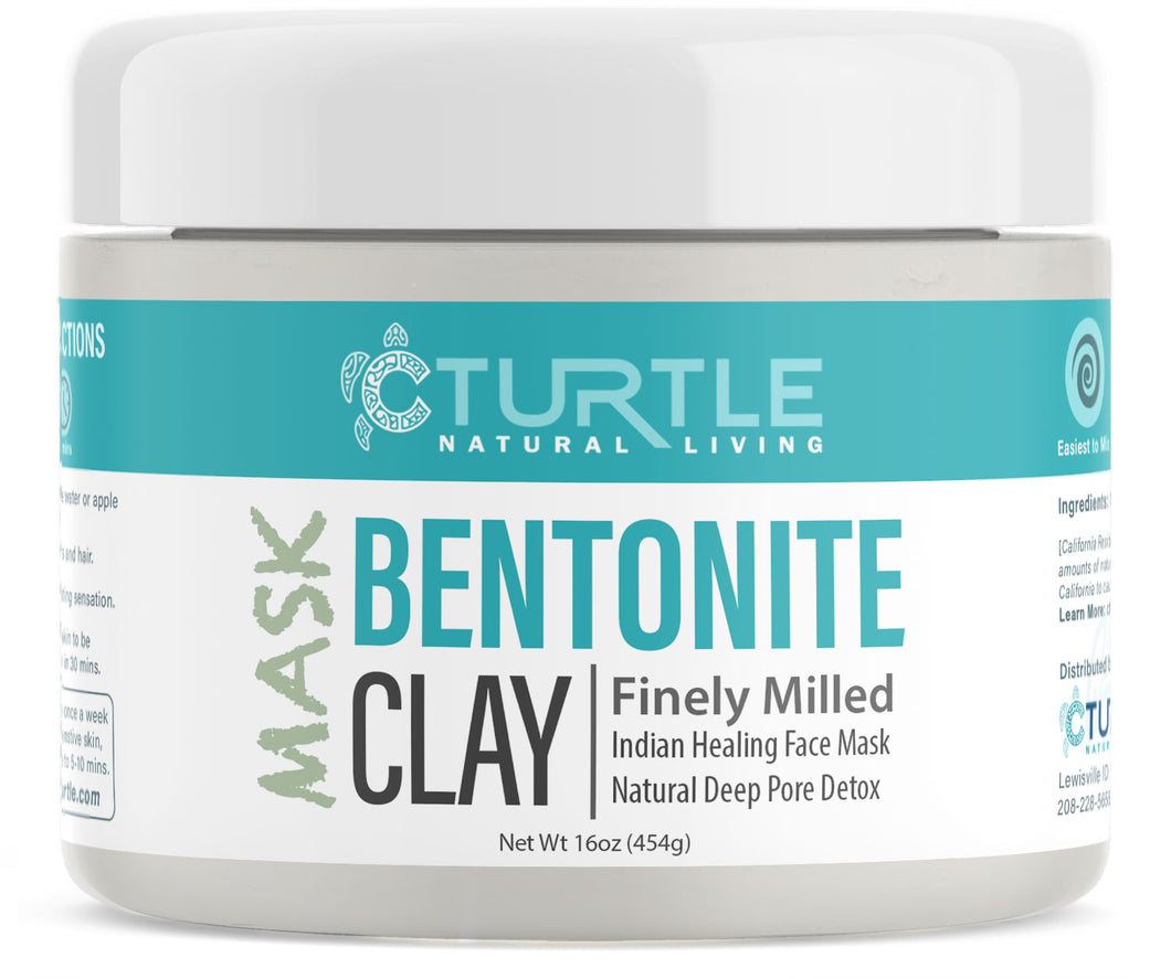 Bentonite Clay Jar 1lb