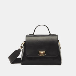 ectu.womens.italian.leather.mini.black.travel.handbag