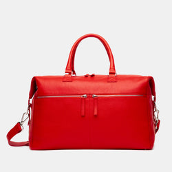 ectu.womens.red.italian.leather.hudson.handbag