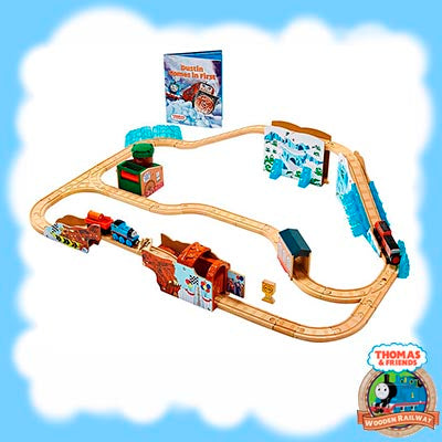 Thomas & Friends Wooden DUSTIN COMES IN FIRST PLAY SET - DGK77