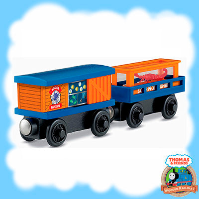 Thomas & Friends Wooden CRAWLING CRITTERS CARGO CAR - Y4504
