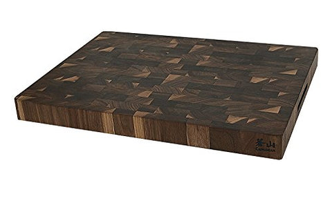 Cangshan 1022360 Walnut End-Grain Cutting Board,16 x 22 x 2""