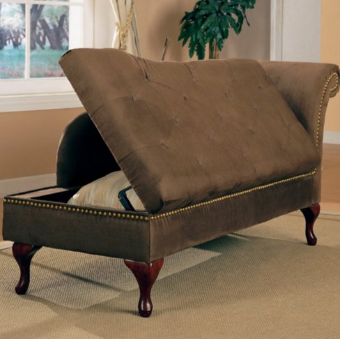 Traditional Living Room Chaise Lounge Furniture-stylish Solutions for Nearly Every Space in the Home-well Made Furniture Is What Sets This Product From the Competition! (Brown)