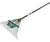 Fiberglass  Handle Leaf Rake