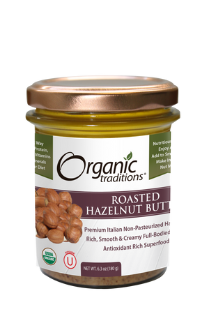 Organic Roasted Hazelnut Butter