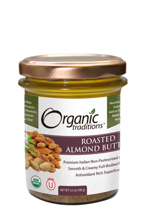Organic Roasted Almond Butter