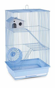 Three Story Hamster & Gerbil Cage - Mint Green