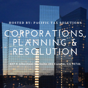 Corporations, Planning & Resolution - Los Angeles
