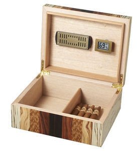 Ridge Mixed Wood 50 Cigar Humidor