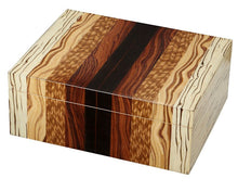 Load image into Gallery viewer, Ridge Mixed Wood 50 Cigar Humidor