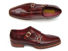 Load image into Gallery viewer, Paul Parkman Men's Double Monkstrap Goodyear Welted Shoes (ID#061)
