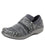 Qwik Outta Sight Black slip on smart shoes with q-chip technology. QWI-5003_S1