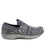 Qwik Outta Sight Black slip on smart shoes with q-chip technology. QWI-5003_S2