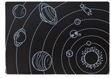 "Chalkboard Placemat Learning Set of 4 12""x17"""