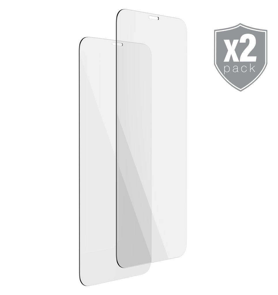 Premium Tempered Glass Protector 2-Pack - Ballistic