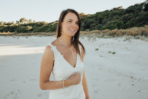 Beach Boho Glam Y Necklace