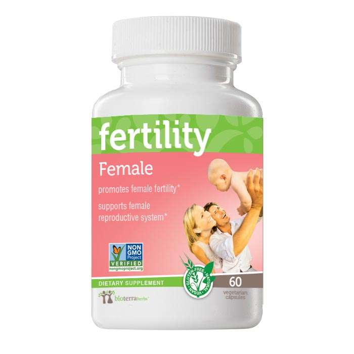 Female… fertility™Herbal Remedy - BioTerra Herbs Bottle