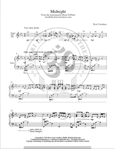 Midnight Sheet Music from Trillium