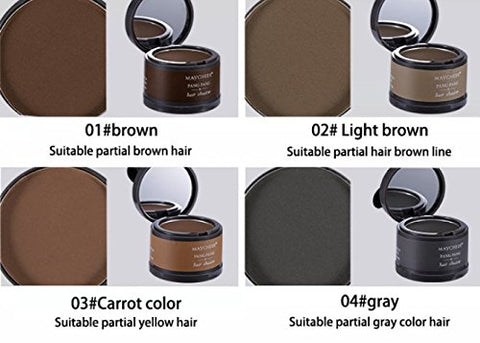 magical instant hairline concealer colours