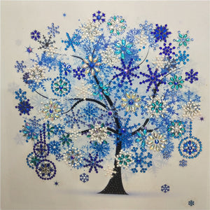 New - Four Seasons Color Tree, Rubik Crystal Diamond Painting -Diamond Paintings, Diamond Paintings Store
