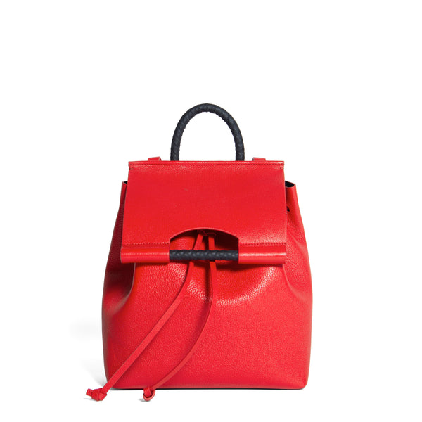 PRISCILLA BACKPACK GOAT RED BRAISE