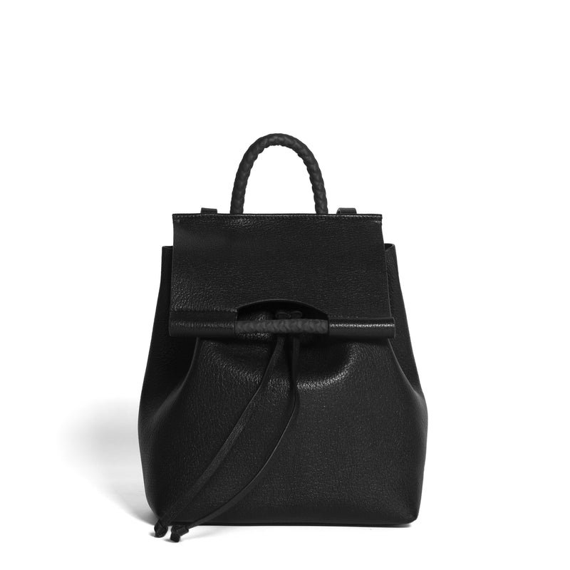 PRISCILLA BACKPACK GOAT BLACK