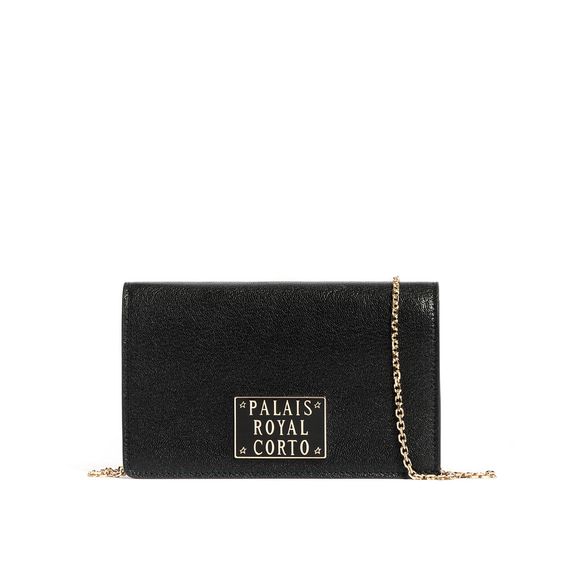 ROYAL WALLET GOAT BLACK