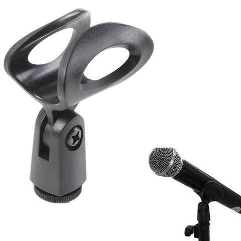 LEORY Microphone Shock Mount Clip Holder Mic Clips Plastic Microphone Clips Mic Stand Accessory