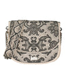 Lace Crossbody Satchel Rubber bag