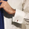Lucky 'Cornetti' Red Chili Cufflinks