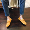 Yellow 'Gommino' Loafers