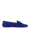 Indigo Blue Nubuk Loafers (size 39.5)