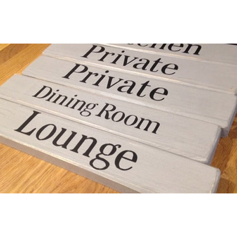 Wall Decor Personalised Door Sign