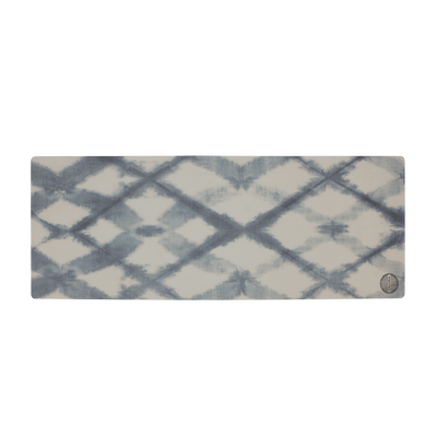 Linen Tie Dye Eco Friendly Yoga Mat (Printed Suede) - $79 USD | CHUCHKA