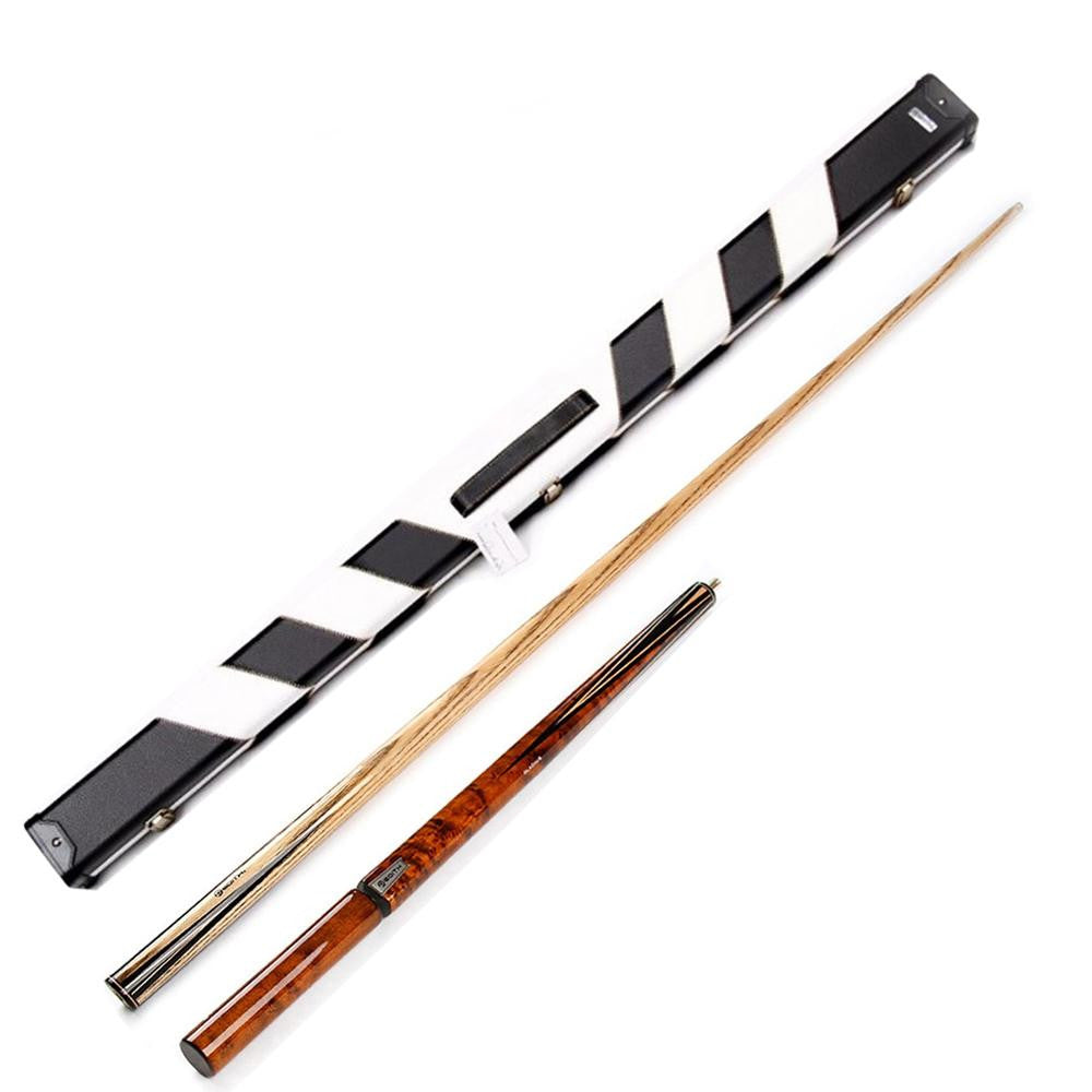 Edith EZ06 Professional 3/4 Ash Shaft Ebony Snooker Cue