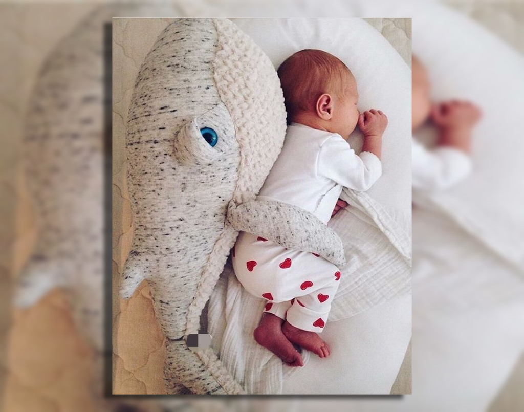 Baby Whales Plush Pillow