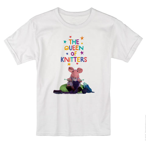The Queen of Knitters Clangers T-Shirt