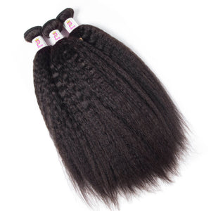 Precise Hair Peruvian Kinky Straight Virgin Human Hair - Precisehairextensions.com
