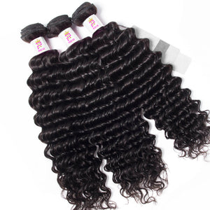 Precise Hair Malaysian Deep Wave Human Hair - Precisehairextensions.com