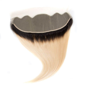 Precise Blonde 613 Ombre Straight Lace Frontal - Precisehairextensions.com