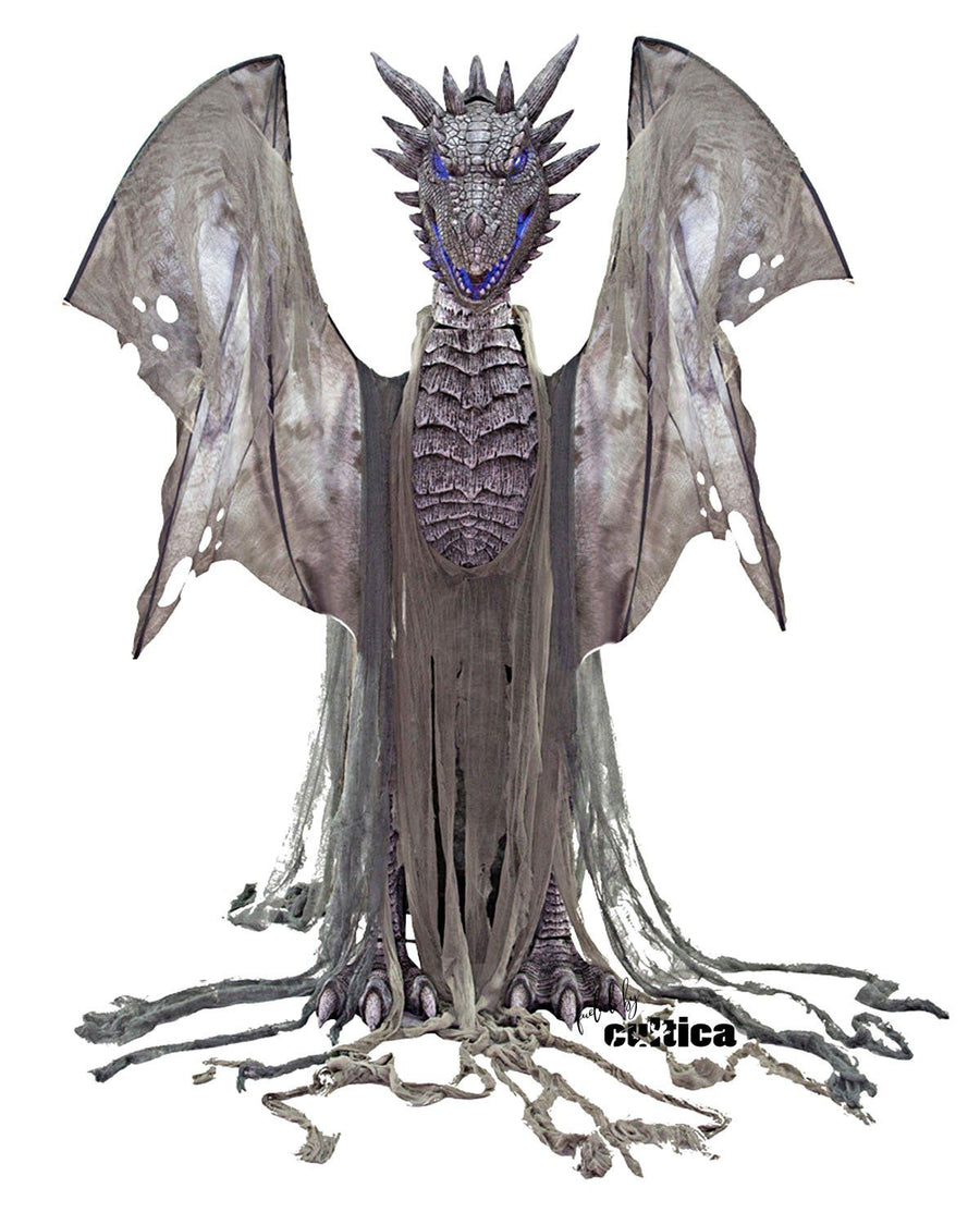 "Animatronic ""Epic Winter Dragon"" - SCREAMSTORE"