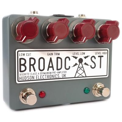 HUDSON ELECTRONICS Broadcast - Dual Footswitch