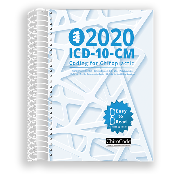 Chiropractic ICD-10-CM Coding for 2020