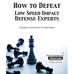 How to Defeat Low Speed Impact Defense Experts