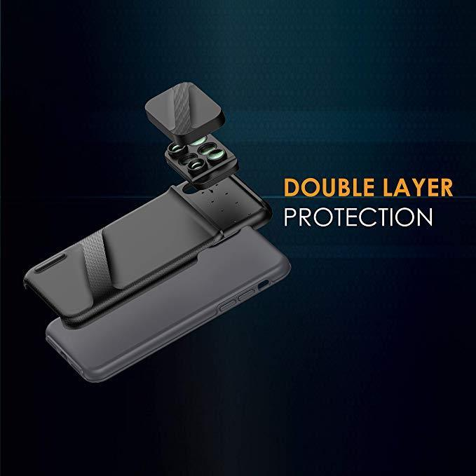 6 in 1 Dual Optics Lens System Double Layer Protection (for iPhone Xs Max)