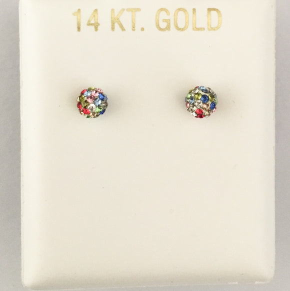 Rainbow Mini Ball Studs