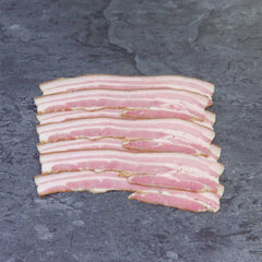 Streaky Bacon - Artificial Nitrate free approx. 250g per portion